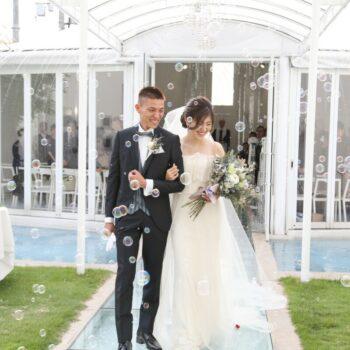 1日まるごと!贅沢に結婚式場を使って安全・安心のラグジュアリーウェディング